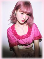 『 カット + ブリーチ×2 +【MIXベリーカラー】』CD8