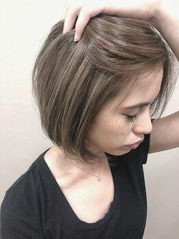 ミック ヘアアンドビューティー 浅草店(miQ Hair&Beauty)の写真/色だけで可愛いを創る♪肌に似合うデザインカラーで雰囲気を変えてオシャレを楽しんで☆【miq浅草】