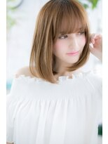ミック ヘアアンドメイクアップ 日暮里店(miq Hair&Make up)可憐な☆胸キュンストレート【miq 日暮里】