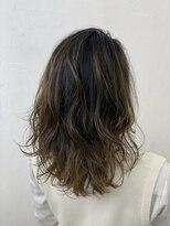 ラシックヘア 三木本店(LASSIC HAIR)アッシュ系バレイヤージュ