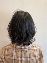 ノイエ(noie)noie杉山舞☆伸ばしかけ黒髪くびれボブ