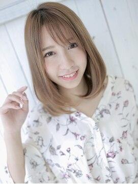 アグヘアー マーク 酒田下安店(Agu hair marc)似合わせカットで大人かわいいボブディ