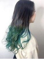 ソース ヘア アトリエ 京橋(Source hair atelier)【SOURCE】グリーングラ
