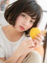 【macaron】こなれ☆シースルーボブ☆