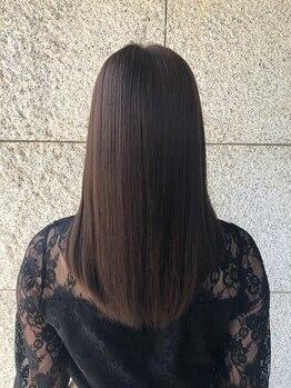 エクシーオザワ(EXY OZAWA)の写真/植物由来成分100%のヘナ&オーガニック成分配合のカラーにより従来よりも髪に優しく作用します!