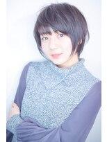 モリオ 池袋店(morio FROM LONDON)【morio池袋】人気の髪型 ひし形前下がりとろみ小顔ショート