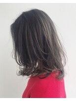 エトワール(Etoile HAIR SALON)ミディアム/ワンカール/地毛風カラー