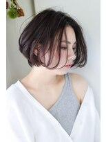 イロドリ ヘアーデザイン(IRODORI hair design)IRODORI 大人可愛いミニボブ [西尾一寛]