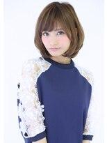 『PD三宮』大人かわいい小顔グレージュ☆ひし形前下がりボブ★