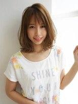 アグ ヘアー ジャパン 札幌9号店(Agu hair japan)肩ラインで爽やかにハネる軽ミディ