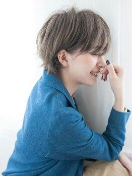 イスコ(ISCO)の写真/骨格や雰囲気を考慮したスタイル作り。前髪や顔周りまで計算しつくされた技術で似合わせスタイルをご提案☆