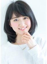 リル ヘアーデザイン(Rire hair design)【Rire-リル銀座-】カットで決まる☆ひし形ふわミディ