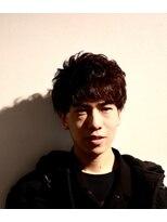 メンズヘアースパイス ユメサキ(Men's Hair SPICE -yumesaki-)山中拓也風 パーマスタイル