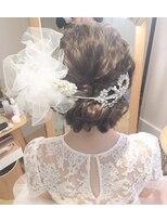 ゴッソホリエ(gosso horie)guest snap◇wedding hairset