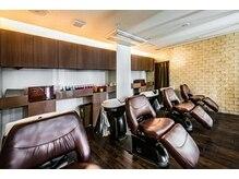 ヘアーリゾートノーブル(Hair Resort Noble)の雰囲気(フルフラットのYUMEシャンプーで癒やしの空間を提供します。)