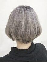 ヘアリゾート エーアイ 浅草橋店(hair resort Ai)ホワイトアッシュグレージュカラーモードワンカール【Ai浅草橋】