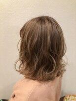 ヘアーグルーミング アイム(Hair &Grooming aim)【レディースカット】ロブレイヤー&ハイライト