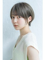 アンアミ オモテサンドウ(Un ami omotesando)【Un ami】《増永剛大》10代~40代人気、グレージュショートボブ