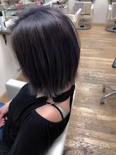 ヘアーメイク パチャラ 成増駅前店(Hair make PACHARA)☆切りっぱなしボブ☆アンニュイボブ☆暗めアッシュグレー