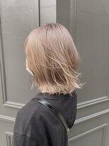 ヘアーアイスカルテット(HAIR ICI QUARTET)●ミルクティーベージュ グレージュ ベージュ ハイライト