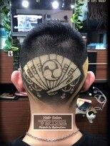 2019北九州成人式 家紋髪
