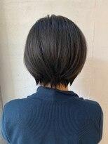 センスヘア(SENSE Hair)【30代にオススメ】収まりの良いショートボブ☆