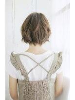 吉祥寺/美髪デザインカラー無造作カールボブディ丸みショート006