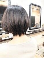 エトネ ヘアーサロン 仙台駅前(eTONe hair salon)ひし形ショートボブ20代30代40代