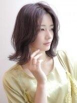 《Agu hair》伸ばしかけにも◎韓国風ロブ
