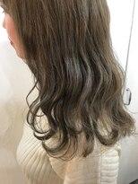 ヘアーアンドメイク ルシア 梅田茶屋町店(hair and make lucia)大人気!シフォンベージュ