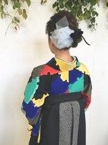 フラココトリコ(hurakoko trico)[hurakokotrico]和泉美佳 卒業式 和 洋 ミックス袴スタイル
