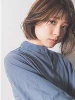 ヘアーフォトギフト(HAIR×PHOTO gift.)揺らぎフラットボブ