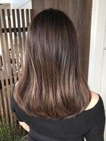 美容室 レア(lea)オーガニックで髪が綺麗にみえる☆ピンクブラウンカラー♪
