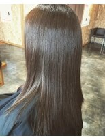 サロンズヘアー 中納言店(SALONS HAIR)暗髪でも大人可愛い透明感カラー