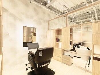 ココロサロンハナレ 浅草美容院(cocolo salon HANARE)の写真/《7月25日NEW OPEN待望の完全個室内完結型サロン》新しい価値を!人の目を気にせず、寛ぎながら希望を叶える