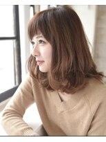 【Green Room 佐藤】ミルクティーウェービーボブ