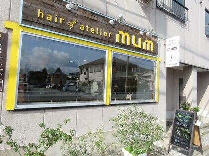 ヘア アトリエ マム(hair atelier mum)の写真