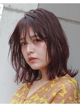 スーリール イマイズミ(Sourire Imaizumi)《sourire imaizumi 堀本》ボブ☆パープル☆ピンク☆イルミナ