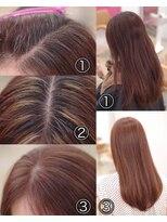 フィックス アップ(FIX-UP SHIBUYA)脱白髪染めハイライトカラー