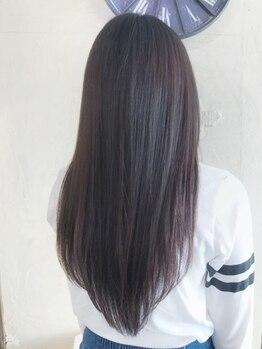 ヘアーサロン リアン 熊谷2号店(hair salon Rien)の写真/ナチュラルな柔らかストレートも、しっかりストレートも◎あなたの希望に合わせて理想のさらさら髪に…☆
