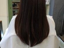ドリッピー(DRiPPY)の雰囲気(ナチュラルな縮毛矯正なら、自然な動きで扱いやすいです。)