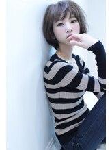 ノワール ヘアー デザイン(noir hair design)noir hair catalog15/アッシュショートボブ。