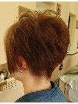 スッキリ可愛い髪型