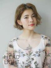 フローレス バイ ヘッドライト 三鷹店(hair flores by HEADLIGHT)*Ursus* ハイトーン×切りっぱなしボブ