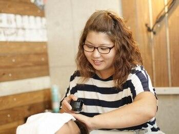 ヘアサロンユーヤ(hair salon Yu Ya)の写真/自分へのご褒美に◎ヘッドスパでリフレッシュ♪21時まで営業だからお仕事帰りにも立ち寄れるのが嬉しい!