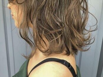 ハフ(HAFU)の写真/似合うカラーセレクト+髪質にぴったりのトリートメントをご提案☆透明感あふれる外国人風カラーもお任せ♪