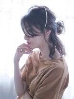オジコ(ojiko)☆月曜日営業☆ojiko.大人可愛いクレセントハーフアップ