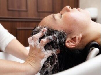 ルーチェ(Luce)の写真/【オーガニックヘッドスパ&スッキリ!炭酸泉】でセットが心も頭皮も癒される極上の癒しを是非体験して…★