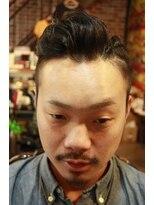 アントルポ(entrepot)アントルポmai【men's編み込み7:3style】