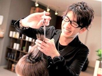 ヘアーバズール(hair Buzl)の写真/〈口コミ高評価!〉お客様に支持される丁寧なカウンセリングと理想以上の仕上がりで、満足度◎